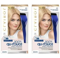 2 Clairol Nice'n Easy Root Touch Up Hair Color Kit #11 ULTRA