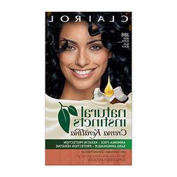 Clairol Natural Instincts Crema Keratina Hair Color Kit, Blu
