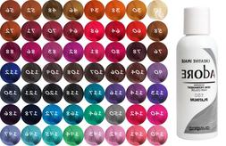 Adore by Creative Image Semi Permanent Hair Dye Color 118mL