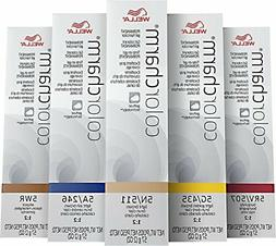 Wella Color Charm Permanent Gel Hair Pick your Color !
