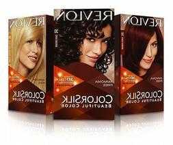 REVLON COLORSILK BEAUTIFUL COLOR PERMANENT HAIR DYE  #03 ~ #