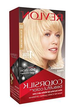 3x Revlon ColorSilk Permanent Hair Color 03 ULTRA LIGHT SUN