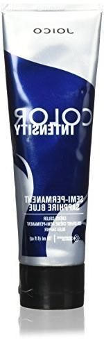 Joico Intensity Semi-Permanent Hair Color, Sapphire Blue, 4