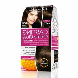 L'Oreal Paris Casting Creme Gloss Condition Hair Color 400 D