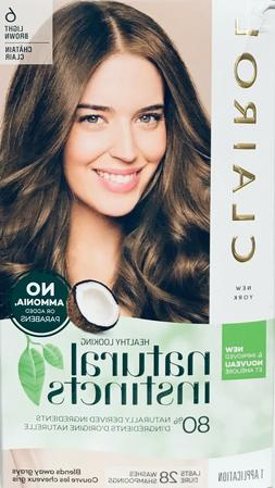 Clairol Natural Instincts Hair Color, 6 Light Brown
