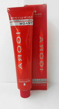 ORIGINAL Packaging SCHWARZKOPF IGORA ROYAL Permanent Hair Co