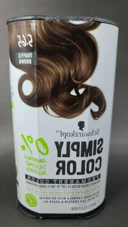 Schwarzkopf Simply Color Permanent Hair Color Truffle Brown