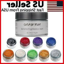 unisex diy hair color wax mud dye
